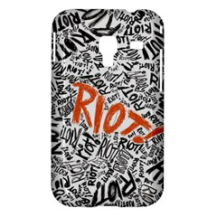 Paramore Is An American Rock Band Samsung Galaxy Ace Plus S7500 Hardshell Case