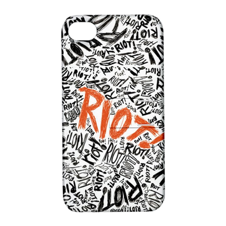 Paramore Is An American Rock Band Apple iPhone 4/4S Hardshell Case with Stand