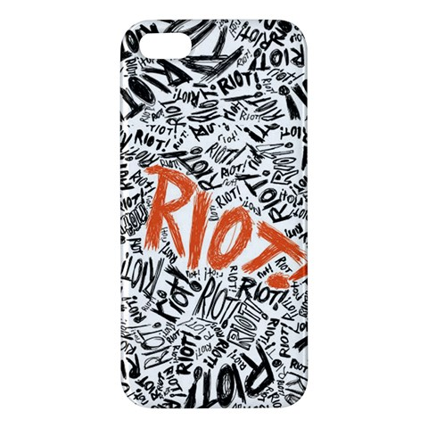 Paramore Is An American Rock Band Apple iPhone 5 Premium Hardshell Case