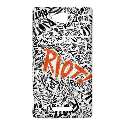 Paramore Is An American Rock Band Sony Xperia C (S39H)
