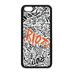Paramore Is An American Rock Band Apple iPhone 5C Seamless Case (Black) Front