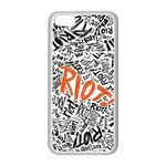 Paramore Is An American Rock Band Apple iPhone 5C Seamless Case (White) Front
