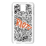 Paramore Is An American Rock Band Samsung Galaxy Note 3 N9005 Case (White) Front