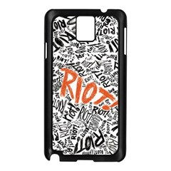 Paramore Is An American Rock Band Samsung Galaxy Note 3 N9005 Case (Black)