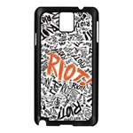 Paramore Is An American Rock Band Samsung Galaxy Note 3 N9005 Case (Black) Front