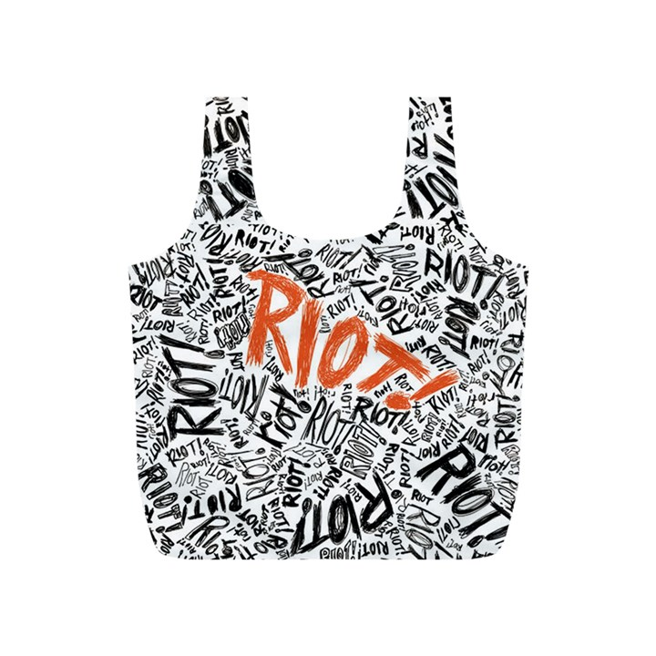 Paramore Is An American Rock Band Full Print Recycle Bags (S)