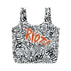 Paramore Is An American Rock Band Full Print Recycle Bags (M)