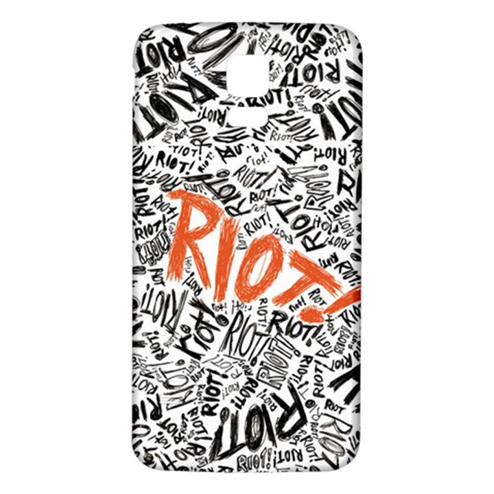 Paramore Is An American Rock Band Samsung Galaxy S5 Back Case (White)