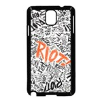 Paramore Is An American Rock Band Samsung Galaxy Note 3 Neo Hardshell Case (Black) Front