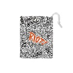 Paramore Is An American Rock Band Drawstring Pouches (Small)  Front