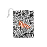 Paramore Is An American Rock Band Drawstring Pouches (Small)  Back