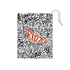 Paramore Is An American Rock Band Drawstring Pouches (Medium)