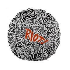 Paramore Is An American Rock Band Standard 15  Premium Flano Round Cushions