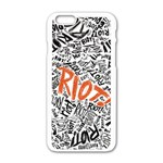 Paramore Is An American Rock Band Apple iPhone 6/6S White Enamel Case Front
