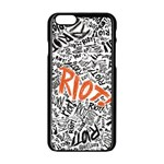 Paramore Is An American Rock Band Apple iPhone 6/6S Black Enamel Case Front