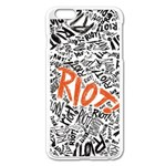 Paramore Is An American Rock Band Apple iPhone 6 Plus/6S Plus Enamel White Case Front