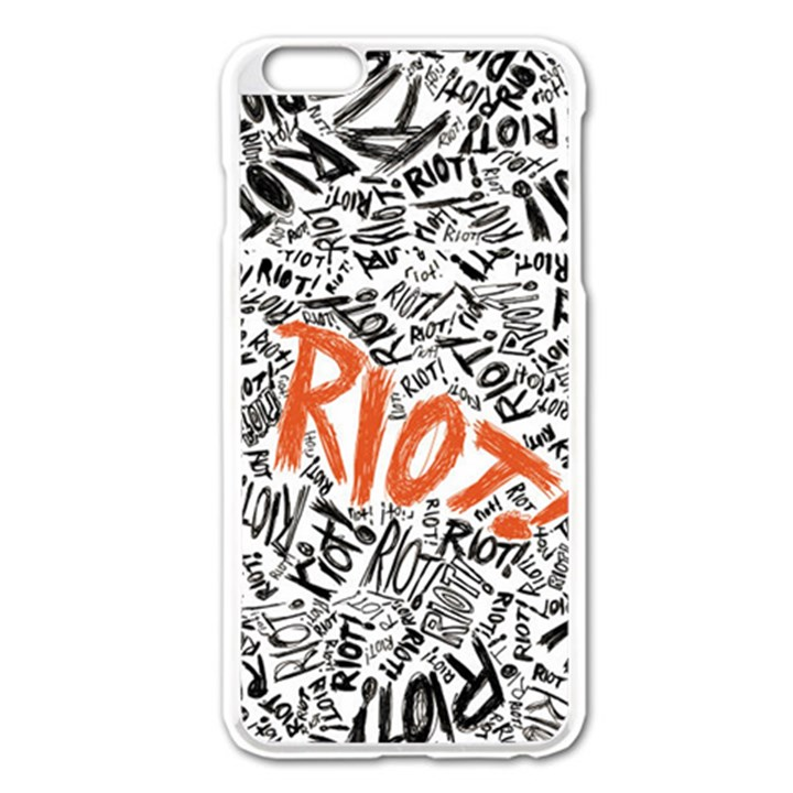 Paramore Is An American Rock Band Apple iPhone 6 Plus/6S Plus Enamel White Case