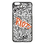 Paramore Is An American Rock Band Apple iPhone 6 Plus/6S Plus Black Enamel Case Front