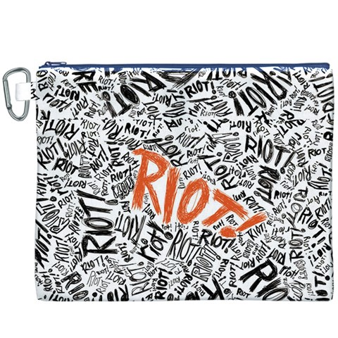 Paramore Is An American Rock Band Canvas Cosmetic Bag (XXXL)