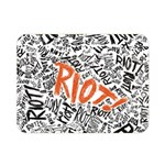 Paramore Is An American Rock Band Double Sided Flano Blanket (Mini)  35 x27 Blanket Back