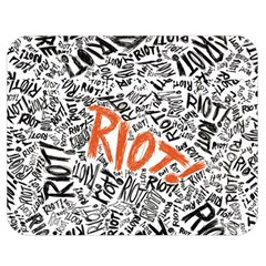 Paramore Is An American Rock Band Double Sided Flano Blanket (Medium)