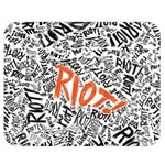 Paramore Is An American Rock Band Double Sided Flano Blanket (Medium)  60 x50 Blanket Back