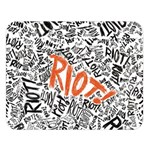 Paramore Is An American Rock Band Double Sided Flano Blanket (Large)   Blanket Back