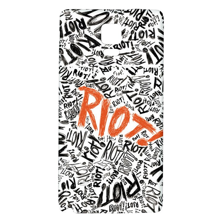 Paramore Is An American Rock Band Galaxy Note 4 Back Case