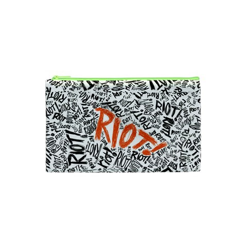 Paramore Is An American Rock Band Cosmetic Bag (XS)