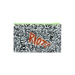 Paramore Is An American Rock Band Cosmetic Bag (XS) Back