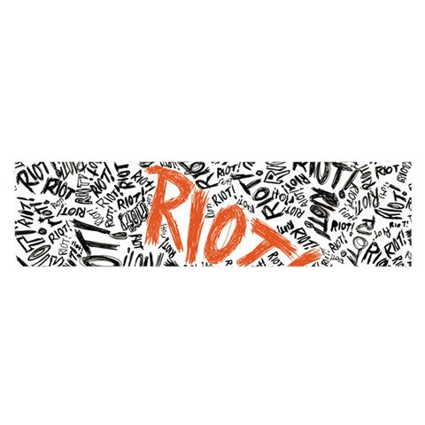 Paramore Is An American Rock Band Satin Scarf (Oblong)