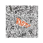 Paramore Is An American Rock Band Small Satin Scarf (Square) Front