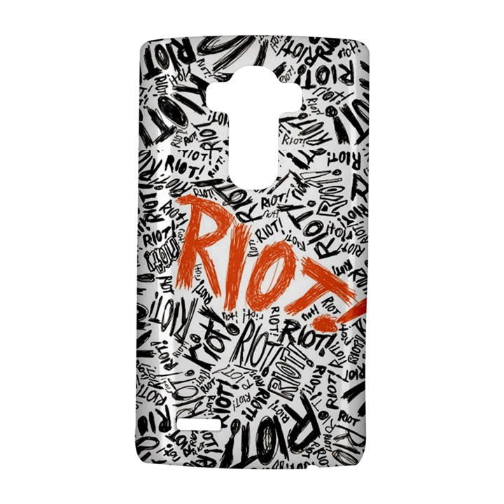 Paramore Is An American Rock Band LG G4 Hardshell Case
