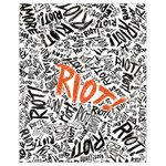 Paramore Is An American Rock Band Drawstring Bag (Small) Back