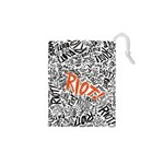 Paramore Is An American Rock Band Drawstring Pouches (XS)  Front