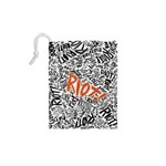 Paramore Is An American Rock Band Drawstring Pouches (XS)  Back