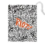 Paramore Is An American Rock Band Drawstring Pouches (XXL) Front