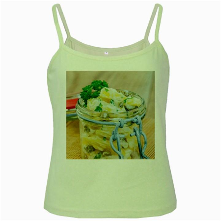 1 Kartoffelsalat Einmachglas 2 Green Spaghetti Tank