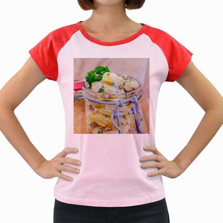1 Kartoffelsalat Einmachglas 2 Women s Cap Sleeve T-Shirt