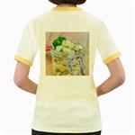 1 Kartoffelsalat Einmachglas 2 Women s Fitted Ringer T-Shirts Back