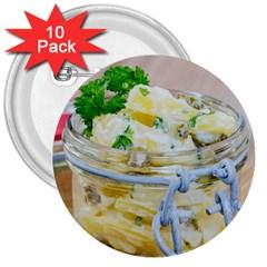 1 Kartoffelsalat Einmachglas 2 3  Buttons (10 pack)