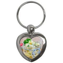 1 Kartoffelsalat Einmachglas 2 Key Chains (Heart)