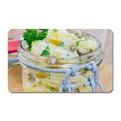1 Kartoffelsalat Einmachglas 2 Magnet (Rectangular)