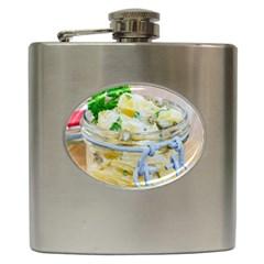1 Kartoffelsalat Einmachglas 2 Hip Flask (6 oz)