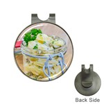 1 Kartoffelsalat Einmachglas 2 Hat Clips with Golf Markers Front