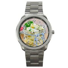 1 Kartoffelsalat Einmachglas 2 Sport Metal Watch