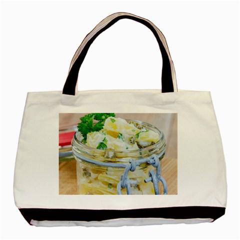 1 Kartoffelsalat Einmachglas 2 Basic Tote Bag