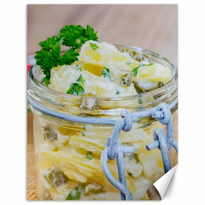 1 Kartoffelsalat Einmachglas 2 Canvas 12  x 16