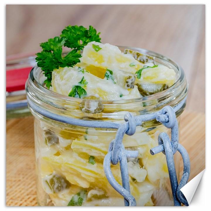 1 Kartoffelsalat Einmachglas 2 Canvas 16  x 16