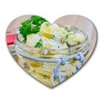1 Kartoffelsalat Einmachglas 2 Heart Mousepads Front